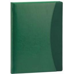 Agenda Prestige cu coperta verde