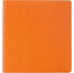 Agenda Quatro Flex cu coperta portocalie