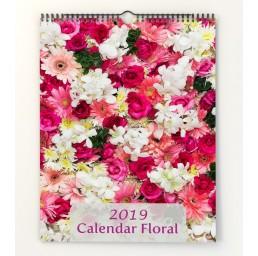 Calendar de perete Flori