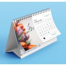 calendar de birou personalizat 2019