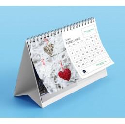 Calendar de birou A5 peisaje