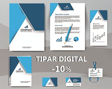 Tipar digital -10%