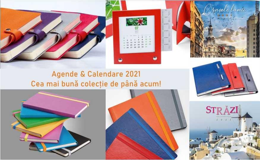 Am lansat cea mai buna colectie de Agende si Calendare 2021 de pana acum. Rasfoieste produsele si convinge-te!